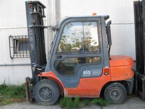 TOYOTA 02-7FDF30 - Carreli usati - Romagna Macchine